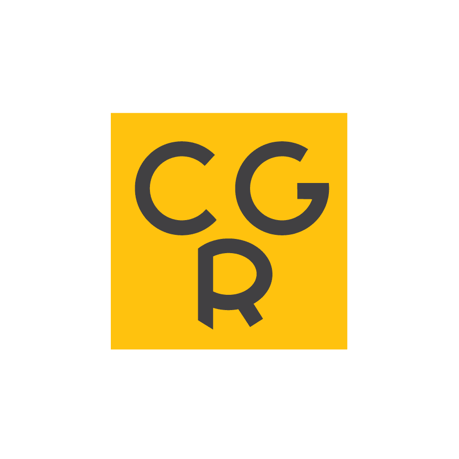 Cgr Gear Logo White