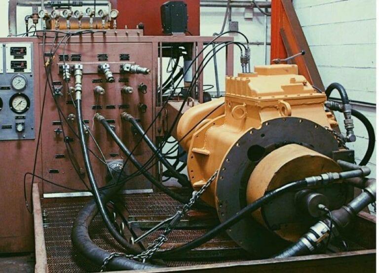 Heavy Equipment Transmission Rebuild Dyno Test